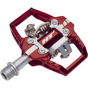 HT Enduro Race T1 Pedals red